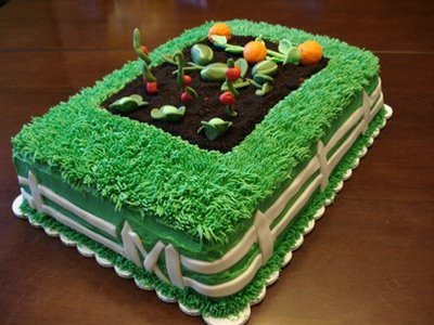 Cake Decorating Garden Scene : Happy Birthday @nothoney Bill s Belles Blog